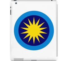 Roundel of the Royal Malaysian Air Force  iPad Case/Skin