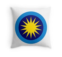 Roundel of the Royal Malaysian Air Force  Throw Pillow