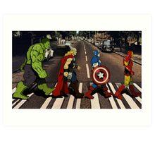 Avenger Road Art Print