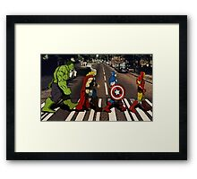 Avenger Road Framed Print