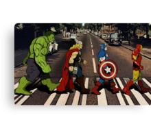 Avenger Road Canvas Print