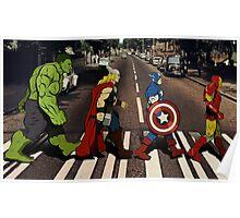 Avenger Road Poster