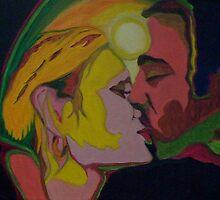 Cosmic Kiss by SamanthaJune