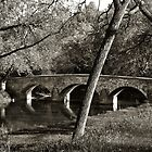Burnside's Bridge, Antietam Creek, Maryland by Dohmnuill