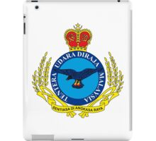 Crest of the Royal Malaysian Air Force iPad Case/Skin
