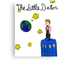 The Little Doctor (open background) Canvas Print