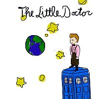 The Little Doctor (open background) Photographic Print