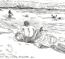 3 RD BEACH AGAIN - JULY 26 2012(C2012) by Paul Romanowski
