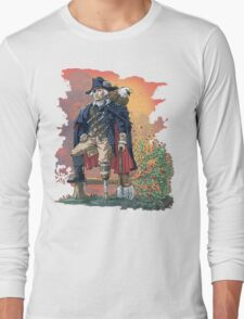 GEORGE WASHINGTON FOUNDING PIRATE FATHER REDUX Long Sleeve T-Shirt