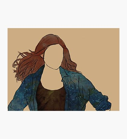 The Girl Who Waited, Amy Pond Photographic Print