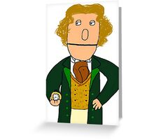 Eighth Doctor Muppet Style Greeting Card