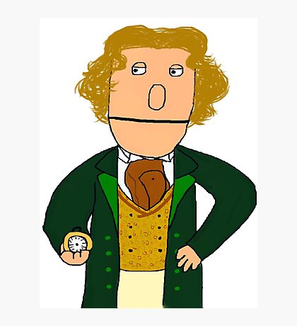 Eighth Doctor Muppet Style Photographic Print