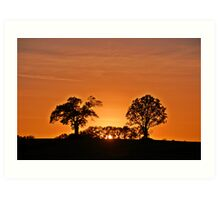 Stunning Sunset Art Print