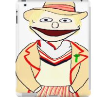 Fifth Doctor Muppet Style iPad Case/Skin