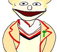 Fifth Doctor Muppet Style by Qooze