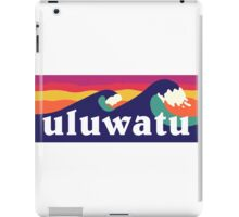 Uluwatu - The Endless summer iPad Case/Skin