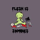 Flesh is for Zombies by Bianca Loran