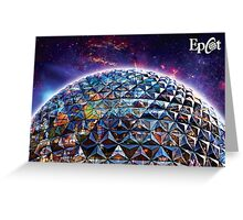 Attractions of Epcot Greeting Card