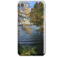 Autumn On The Water iPhone Case/Skin