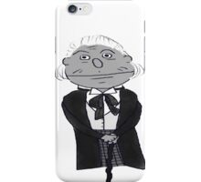 First Doctor Muppet Style iPhone Case/Skin