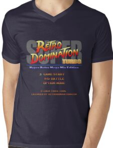 Super Retro Domination Turbo - Hyper Retro Mega Mix Edition! Mens V-Neck T-Shirt