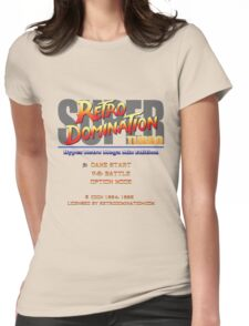 Super Retro Domination Turbo - Hyper Retro Mega Mix Edition! Womens Fitted T-Shirt