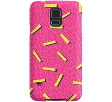 Retro 80's club leggings Samsung Galaxy Case/Skin