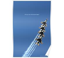 Off we go into the Wild Blue Yonder! Poster