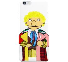 Sixth Doctor Muppet Style iPhone Case/Skin