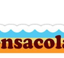 Pensacola Beach - Florida.  Sticker