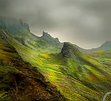 The Quiraing - Isle Of Skye by eddiej