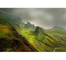 The Quiraing - Isle Of Skye Photographic Print