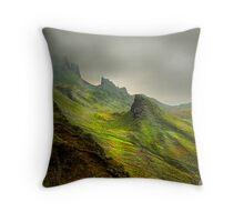 The Quiraing - Isle Of Skye Throw Pillow