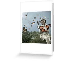 Butterfly Season Greeting Card