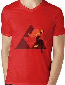Din (Oracle) - Sunset Shores Mens V-Neck T-Shirt