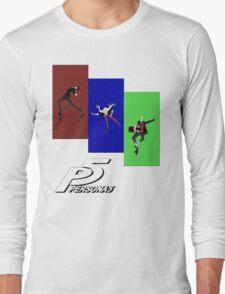 Persona 5 Skating Shirt Long Sleeve T-Shirt