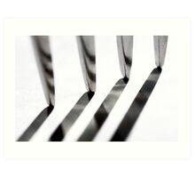 Tine Lines Art Print