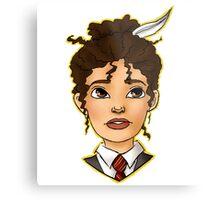 Hermione Bust Metal Print