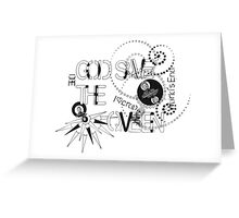 God Save The QVeen - Vivienne Icons  Greeting Card