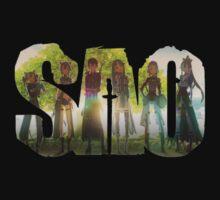 Sword Art Online Logo 2 T-Shirt