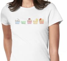 Who ate my cupcake ? Womens Fitted T-Shirt