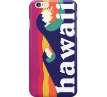 Hawaiian waves iPhone Case/Skin