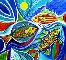 Fish for fun - bigger file by Karin Zeller