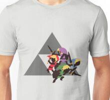 4 Swords Links - Sunset Shores Unisex T-Shirt