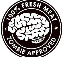 100% Fresh Meat and Zombie Approved v2 by Travis Love