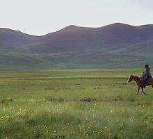 Horseman, Semonkong, Lesotho by John Shortt-Smith