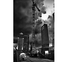 Preliminary Skyscraping Photographic Print