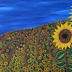"""Sunflower dream""  by Guy Wann"