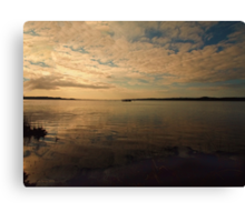 Morning Time, Wilson Inlet, Denmark, Western Australia Canvas Print