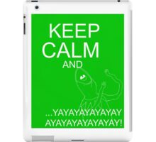 Keep Calm and Kermie On iPad Case/Skin